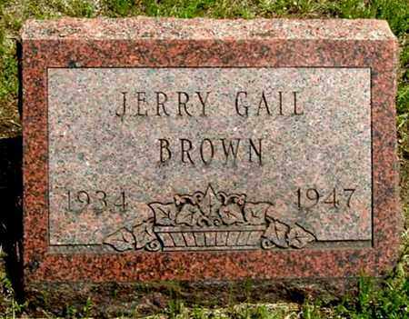 BROWN, JERRY G - Calhoun County, Michigan | JERRY G BROWN - Michigan Gravestone Photos