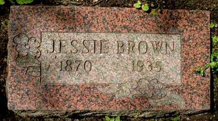 BROWN, JESSIE - Calhoun County, Michigan | JESSIE BROWN - Michigan Gravestone Photos