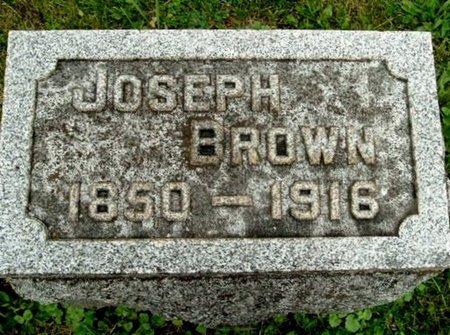 BROWN, JOSEPH - Calhoun County, Michigan | JOSEPH BROWN - Michigan Gravestone Photos