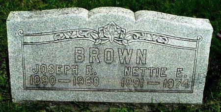 BROWN, JOSEPH R - Calhoun County, Michigan   JOSEPH R BROWN - Michigan Gravestone Photos