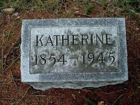 BROWN, KATHERINE - Calhoun County, Michigan | KATHERINE BROWN - Michigan Gravestone Photos