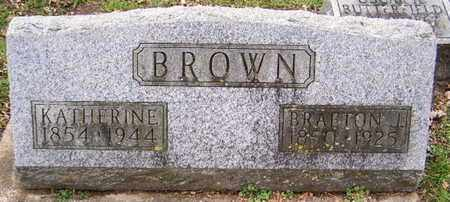 BROWN, KATHERINE - Calhoun County, Michigan | KATHERINE BROWN - Michigan Gravestone Photos