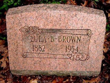 BROWN, LULA B. - Calhoun County, Michigan | LULA B. BROWN - Michigan Gravestone Photos