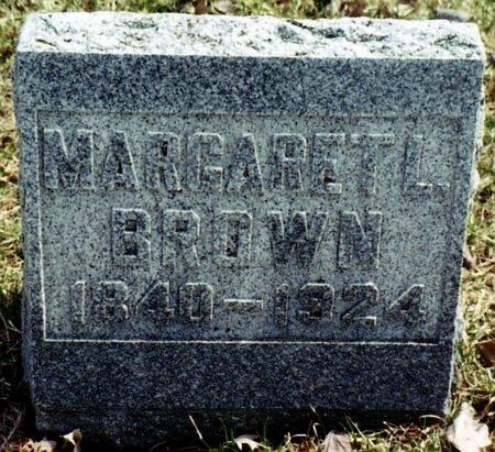 BROWN, MARGARET L. - Calhoun County, Michigan | MARGARET L. BROWN - Michigan Gravestone Photos