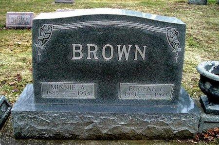 BROWN, EUGENE E. - Calhoun County, Michigan | EUGENE E. BROWN - Michigan Gravestone Photos