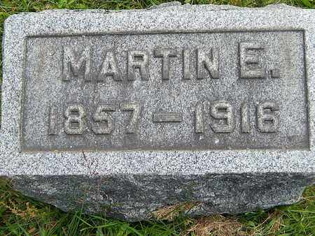 BROWN, MARTIN E. - Calhoun County, Michigan | MARTIN E. BROWN - Michigan Gravestone Photos