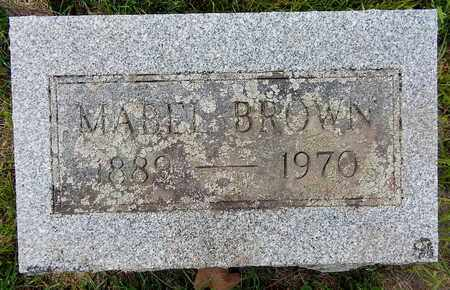 BROWN, MABEL - Calhoun County, Michigan | MABEL BROWN - Michigan Gravestone Photos