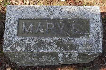 BROWN, MARY E - Calhoun County, Michigan | MARY E BROWN - Michigan Gravestone Photos