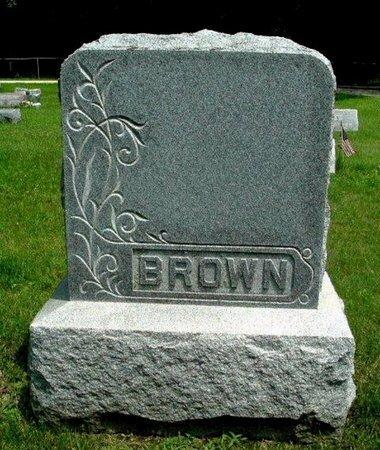 BROWN MONUMENT, GEORGE - Calhoun County, Michigan   GEORGE BROWN MONUMENT - Michigan Gravestone Photos