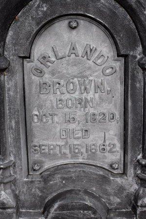 BROWN, ORLANDO - Calhoun County, Michigan | ORLANDO BROWN - Michigan Gravestone Photos