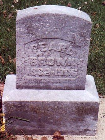 BROWN, PEARL - Calhoun County, Michigan   PEARL BROWN - Michigan Gravestone Photos