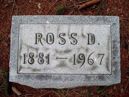BROWN, ROSS D. - Calhoun County, Michigan | ROSS D. BROWN - Michigan Gravestone Photos