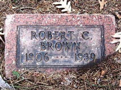 BROWN, ROBERT C - Calhoun County, Michigan   ROBERT C BROWN - Michigan Gravestone Photos