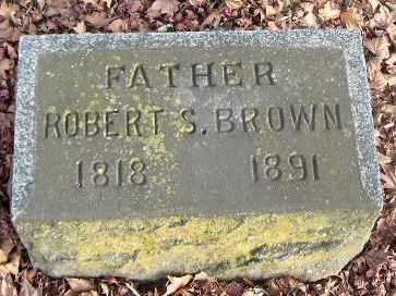 BROWN, ROBERT S - Calhoun County, Michigan   ROBERT S BROWN - Michigan Gravestone Photos