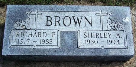 BROWN, RICHARD P - Calhoun County, Michigan | RICHARD P BROWN - Michigan Gravestone Photos