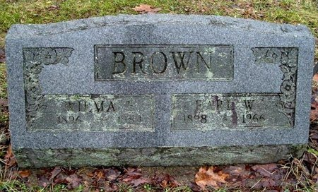 BROWN, WILMA - Calhoun County, Michigan | WILMA BROWN - Michigan Gravestone Photos