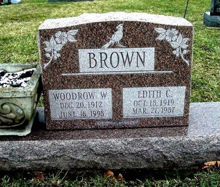 BROWN, EDITH C. - Calhoun County, Michigan | EDITH C. BROWN - Michigan Gravestone Photos