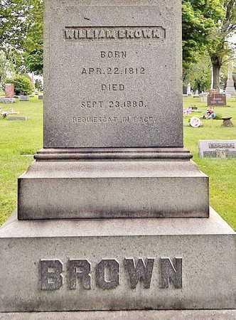 BROWN, WILLIAM - Calhoun County, Michigan | WILLIAM BROWN - Michigan Gravestone Photos