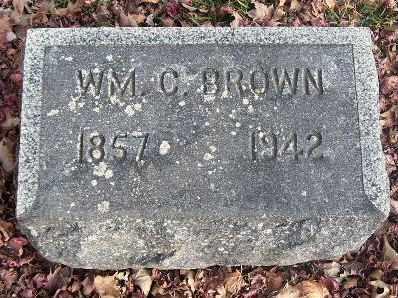 BROWN, WILLIAM CHRIS - Calhoun County, Michigan   WILLIAM CHRIS BROWN - Michigan Gravestone Photos