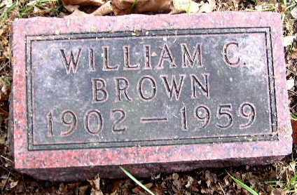 BROWN, WILLIAM CORAL - Calhoun County, Michigan | WILLIAM CORAL BROWN - Michigan Gravestone Photos