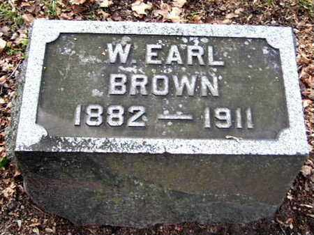 BROWN, WILLIAM EARL - Calhoun County, Michigan   WILLIAM EARL BROWN - Michigan Gravestone Photos