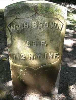 BROWN, WILLIAM HENRY - Calhoun County, Michigan   WILLIAM HENRY BROWN - Michigan Gravestone Photos