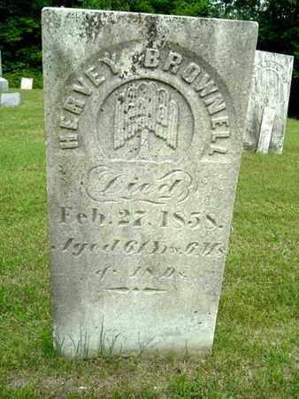 BROWNELL, HERVEY - Calhoun County, Michigan | HERVEY BROWNELL - Michigan Gravestone Photos