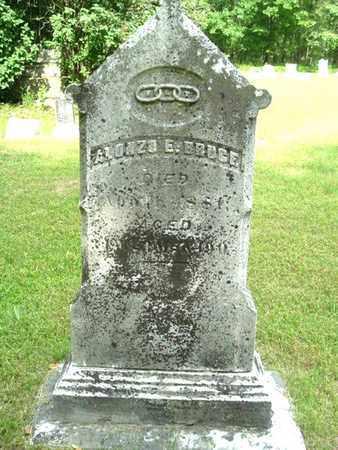 BRUCE, ALONZO - Calhoun County, Michigan | ALONZO BRUCE - Michigan Gravestone Photos