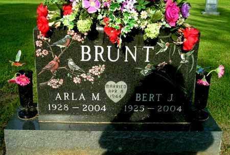 BRUNT, ARLA M - Calhoun County, Michigan | ARLA M BRUNT - Michigan Gravestone Photos