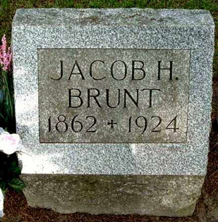 BRUNT, JACOB H - Calhoun County, Michigan | JACOB H BRUNT - Michigan Gravestone Photos