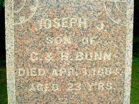 BUNN, JOSEPH - Calhoun County, Michigan   JOSEPH BUNN - Michigan Gravestone Photos