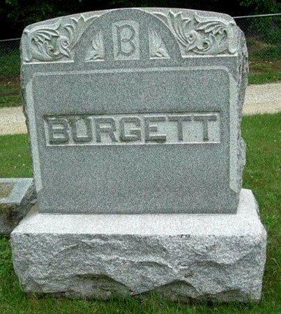 BURGETT, MONUMENT - Calhoun County, Michigan   MONUMENT BURGETT - Michigan Gravestone Photos