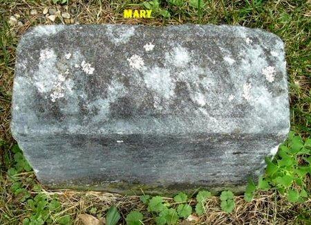 BURGETT, MARY - Calhoun County, Michigan | MARY BURGETT - Michigan Gravestone Photos