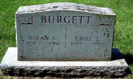 BURGETT, ETHEL - Calhoun County, Michigan   ETHEL BURGETT - Michigan Gravestone Photos