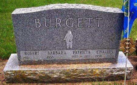 BURGETT, PATRICIA - Calhoun County, Michigan | PATRICIA BURGETT - Michigan Gravestone Photos