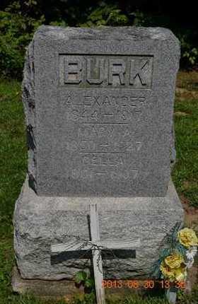 BURK, DELLA - Calhoun County, Michigan | DELLA BURK - Michigan Gravestone Photos