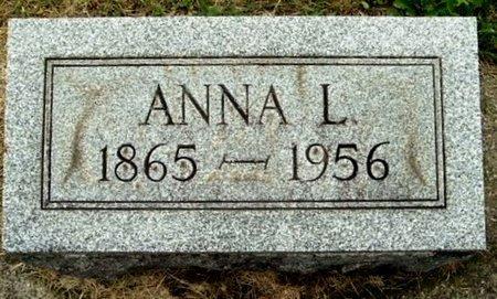 BURK, ANNA L - Calhoun County, Michigan   ANNA L BURK - Michigan Gravestone Photos