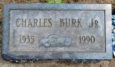 BURK, CHARLES JR - Calhoun County, Michigan | CHARLES JR BURK - Michigan Gravestone Photos