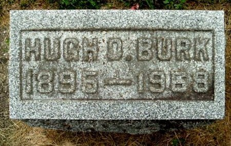 BURK, HUGH - Calhoun County, Michigan | HUGH BURK - Michigan Gravestone Photos