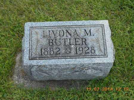 BUTLER, LIVONA M. - Calhoun County, Michigan | LIVONA M. BUTLER - Michigan Gravestone Photos
