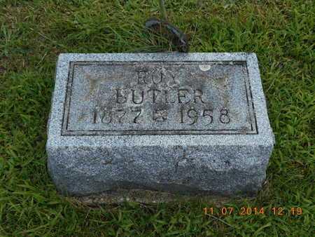 BUTLER, ROY - Calhoun County, Michigan   ROY BUTLER - Michigan Gravestone Photos