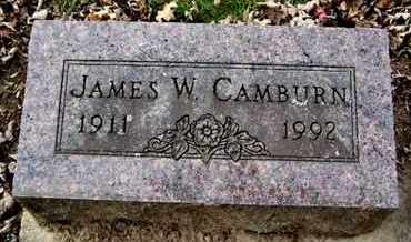 CAMBURN, JAMES W - Calhoun County, Michigan | JAMES W CAMBURN - Michigan Gravestone Photos