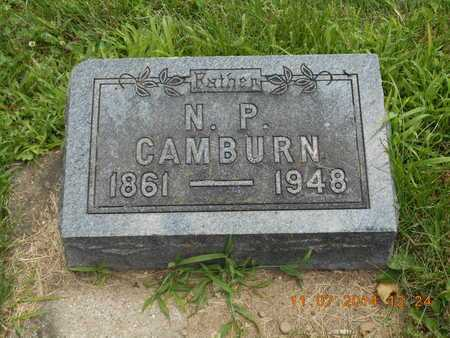 CAMBURN, N.P. - Calhoun County, Michigan | N.P. CAMBURN - Michigan Gravestone Photos