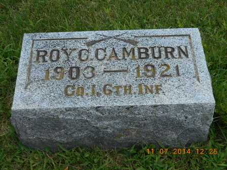 CAMBURN, ROY C. - Calhoun County, Michigan | ROY C. CAMBURN - Michigan Gravestone Photos