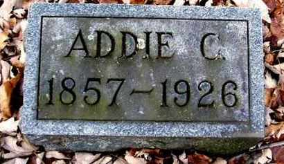 CARPENTER, ADDIE C - Calhoun County, Michigan | ADDIE C CARPENTER - Michigan Gravestone Photos