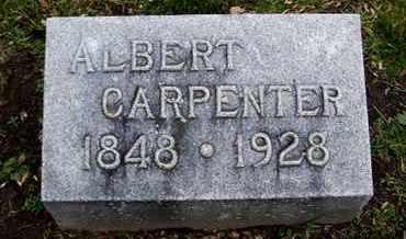 CARPENTER, ALBERT - Calhoun County, Michigan | ALBERT CARPENTER - Michigan Gravestone Photos