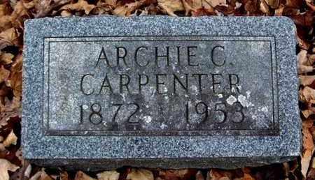 CARPENTER, ARCHIE C - Calhoun County, Michigan   ARCHIE C CARPENTER - Michigan Gravestone Photos