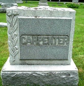 CARPENTER, MONUMENT - Calhoun County, Michigan | MONUMENT CARPENTER - Michigan Gravestone Photos