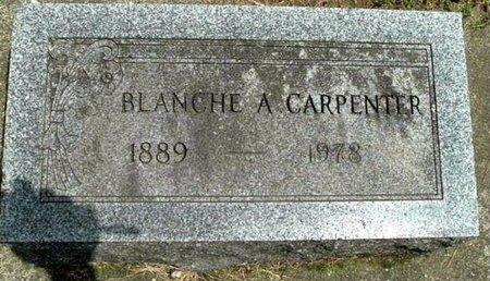 CARPENTER, BLANCHE A - Calhoun County, Michigan   BLANCHE A CARPENTER - Michigan Gravestone Photos