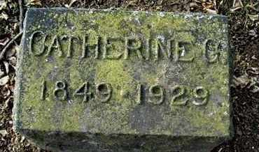 CARPENTER, CATHERINE G - Calhoun County, Michigan | CATHERINE G CARPENTER - Michigan Gravestone Photos